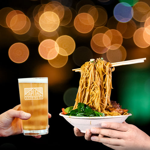 Capital Brewing Co x Night Noodle Markets