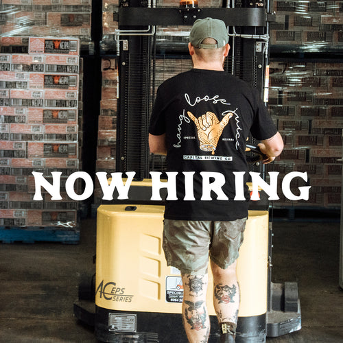 Now hiring: Warehouse and operations lead