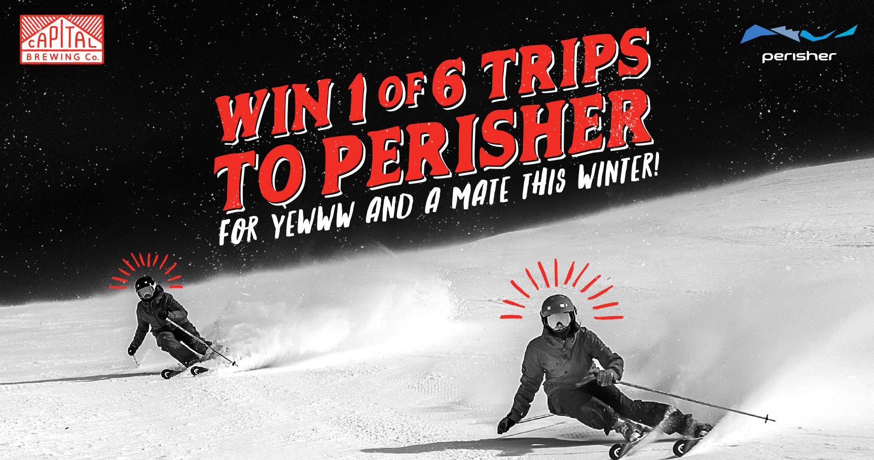 Win 1 of 6 Trips to Perisher For Yewwww and a Mate