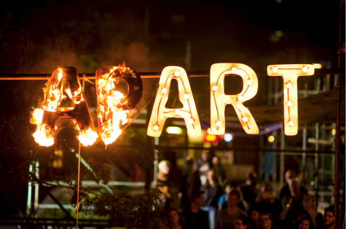 Art Not Apart - Capital Pours Cold Brews Across the Whole Festival!