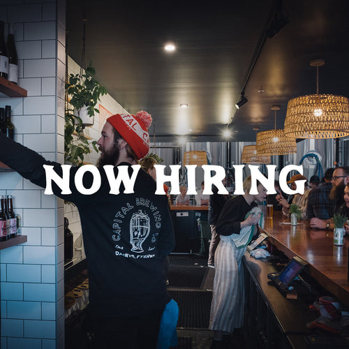 Now Hiring: Taproom Manager!!