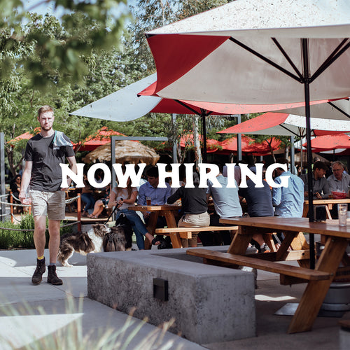 Now hiring: Taproom Supervisors