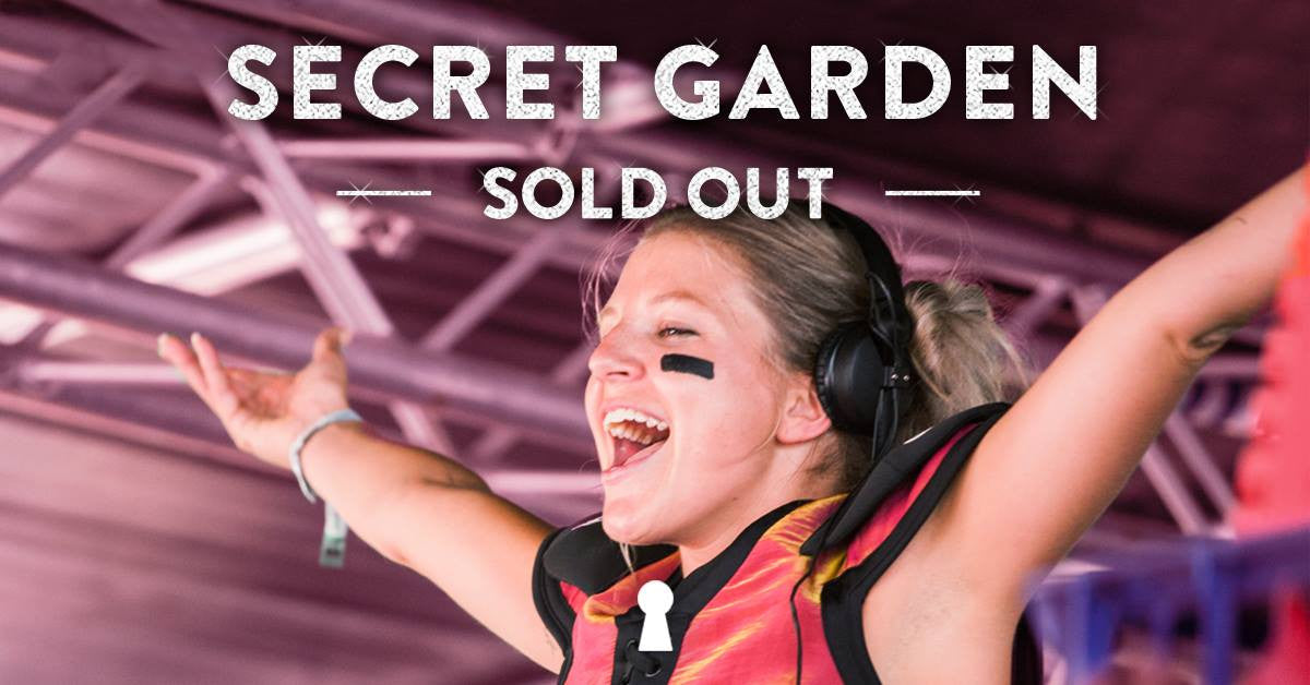 24th Feb 2017 - Secret Garden Festival - Sold Out!