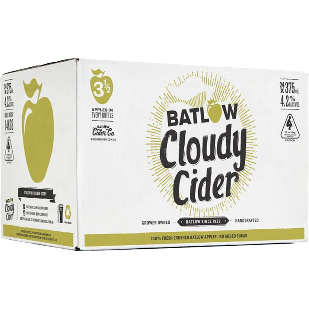 Batlow Cloudy Cider cans