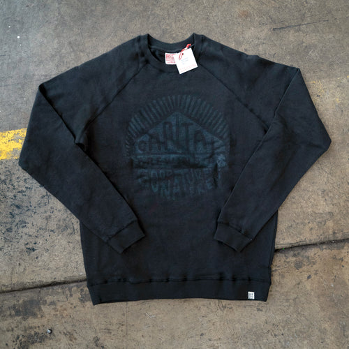 Circle Black on Black Jumper