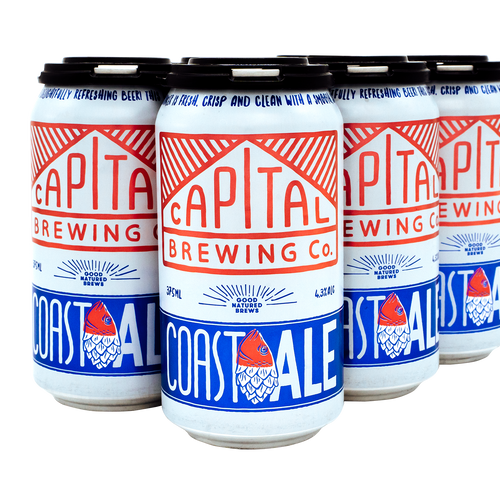 Coast Ale 6 Pack  [Local Delivery]