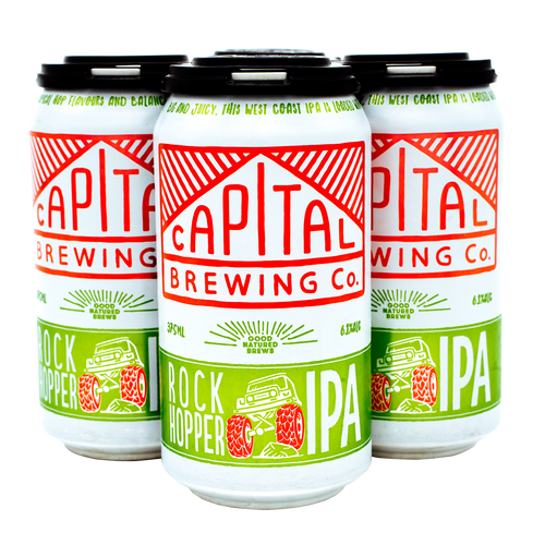 Rock Hopper IPA 4 Pack  [Local Delivery]