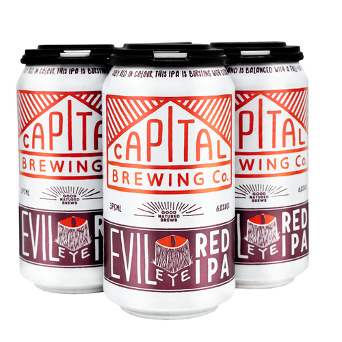 Evil Eye Red IPA 4 Pack [Local Delivery]