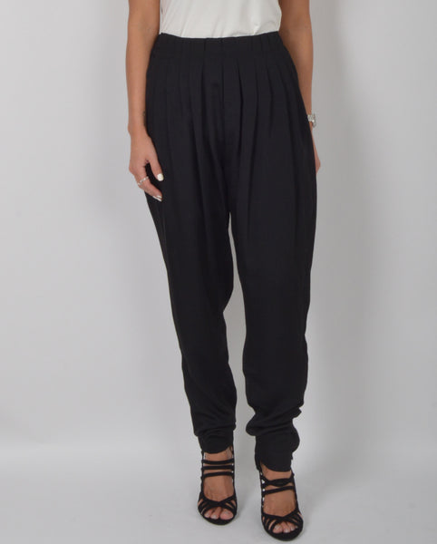 Lily White Sateen Trousers