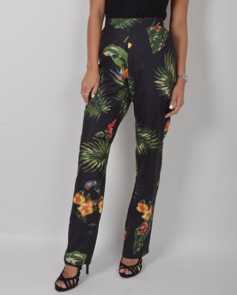 Lily White Tropical Trousers