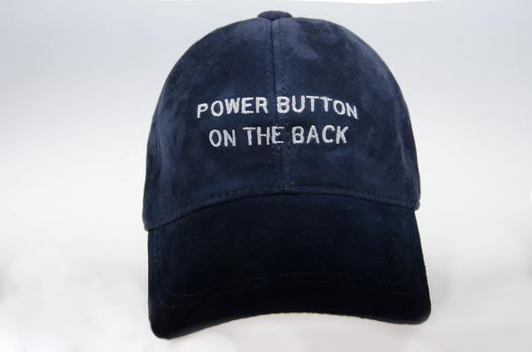 Power Button - Navy