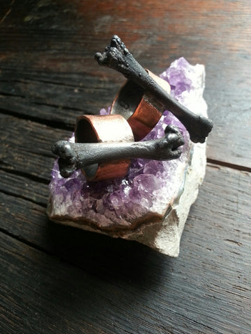 Electroformed Bone Ring