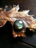 Oak Leaf with Labradorite Pendant