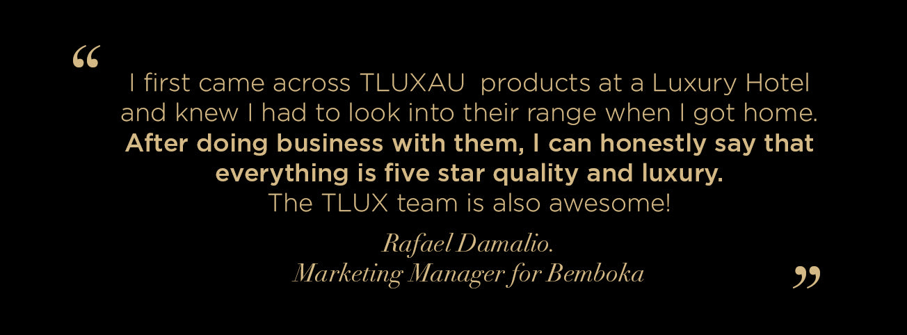 Bemboka Testimonial on Working with TLUXAU on Creating Luxury Chocolates for their Private Label Gifting.