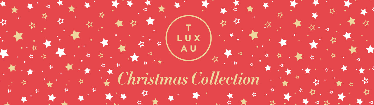 TLUXAU Luxury Red Label Christmas Collection. Australian Made Chocolates
