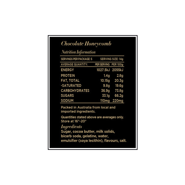Chocolate Honeycomb 70g