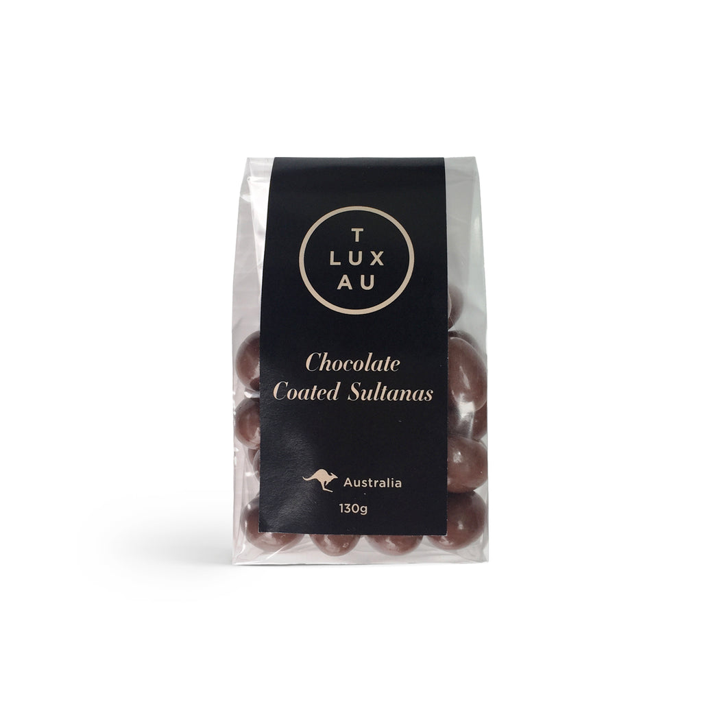 Chocolate Coated Sultanas 130g