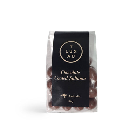 Chocolate Coated Sultanas 130g - Small