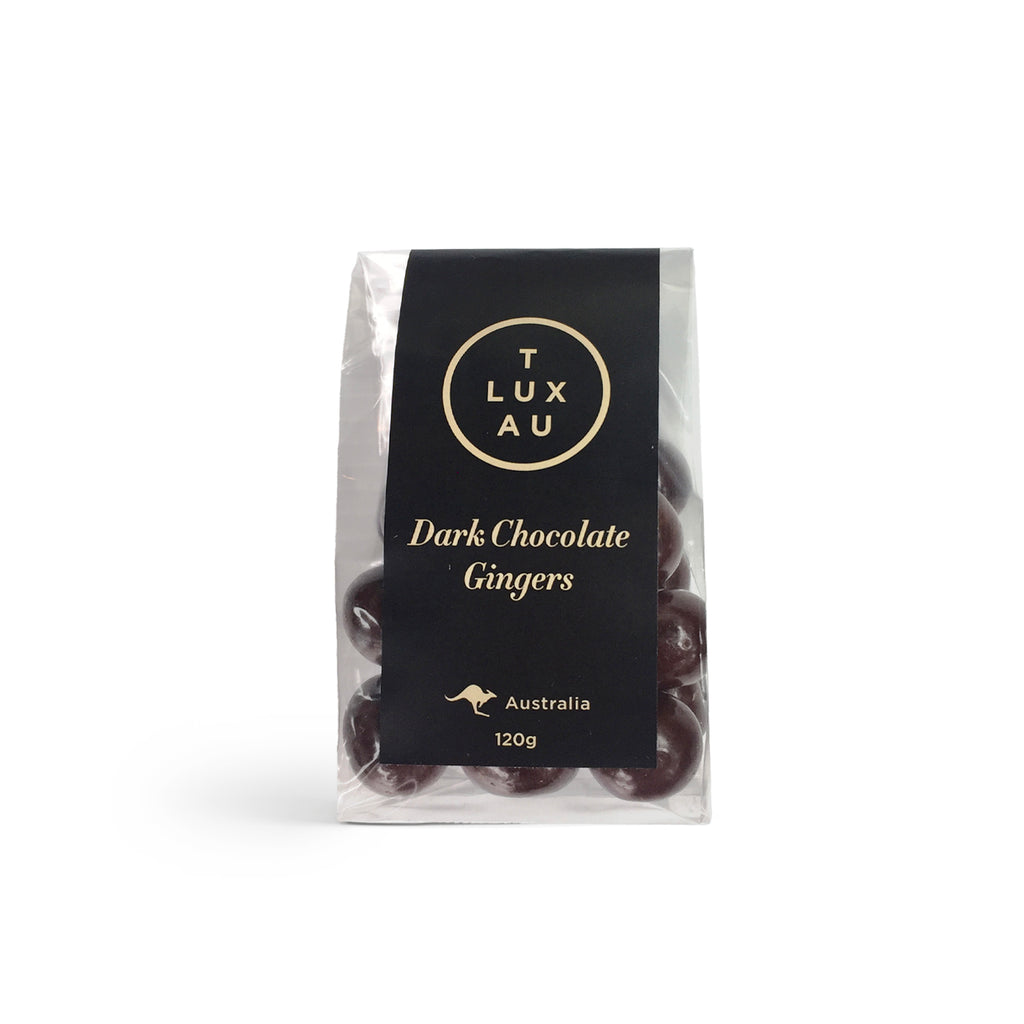 Dark Chocolate Coated Gingers 120g - Small