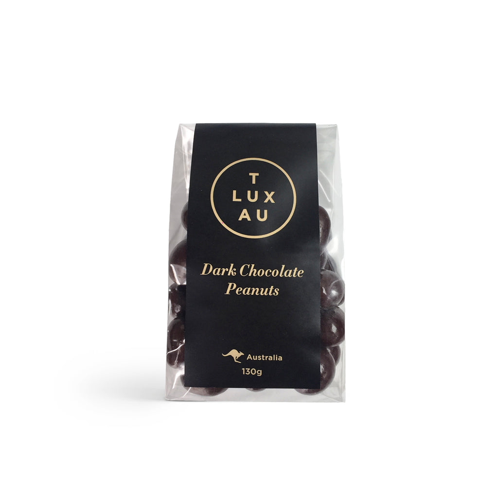 Dark Chocolate Peanuts 130g
