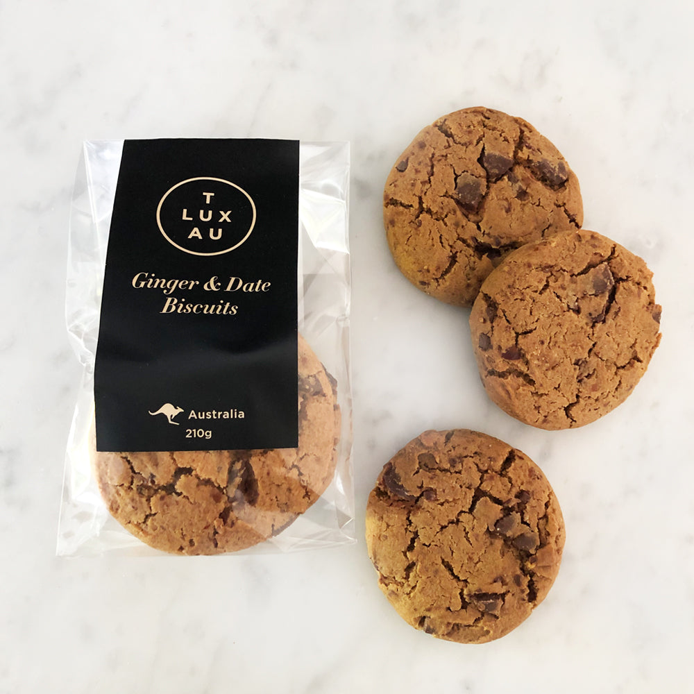 Ginger & Date Biscuits 210g