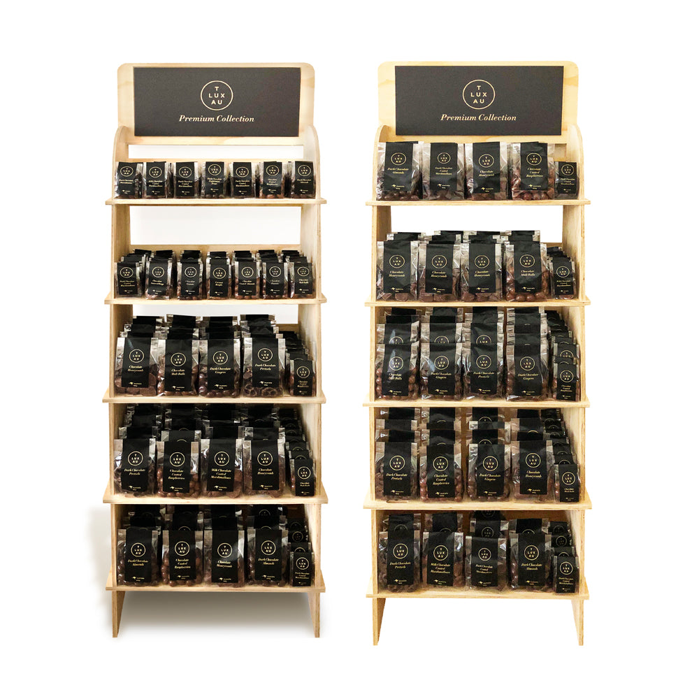 In-Store Black Label Stands