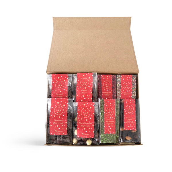 Large Christmas Deluxe Hamper Box - Red Label