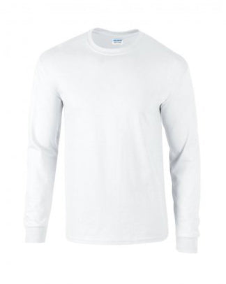 Unisex long sleeve cotton t-shirts
