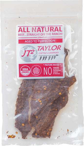 buy all natural spicy beef jerky