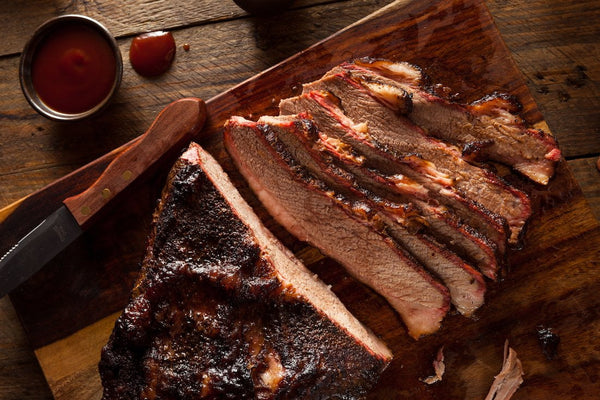 Texas Holiday Beef Special: Brisket (2 Pack), Ground Beef (5lbs)