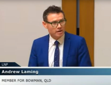 The man who stood up for the vocational education and training sector - Mr Andrew Laming MP