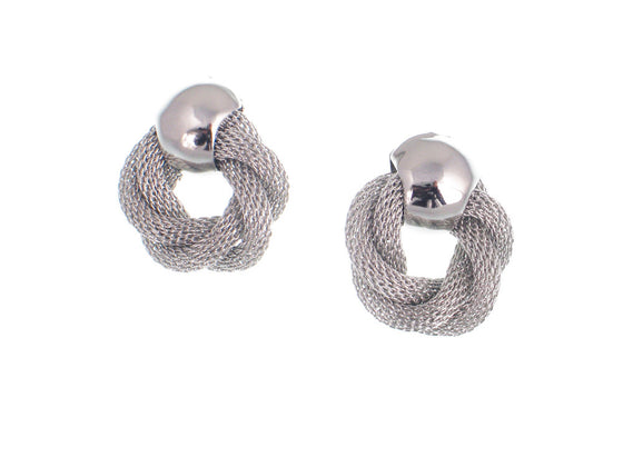 Mesh Knot Earrings - Erica Zap Designs