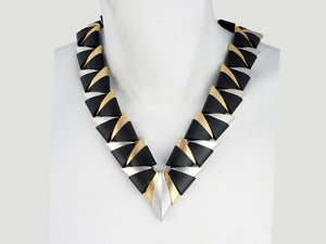 "Long ""V"" Collar 