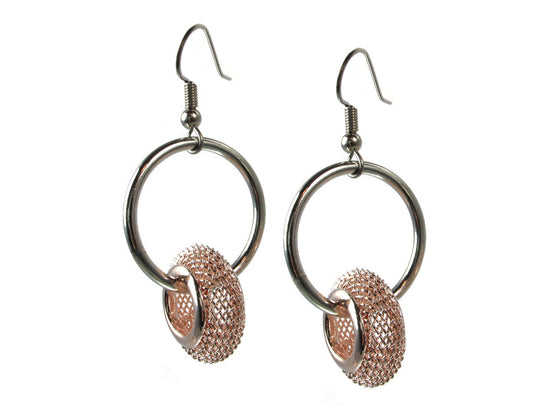 Floating Mesh Bead Earrings - Erica Zap Designs