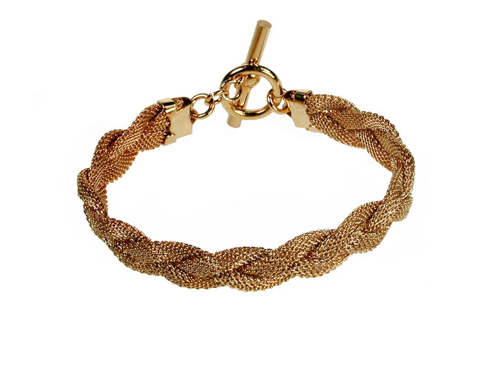Thin Braid Mesh Bracelet