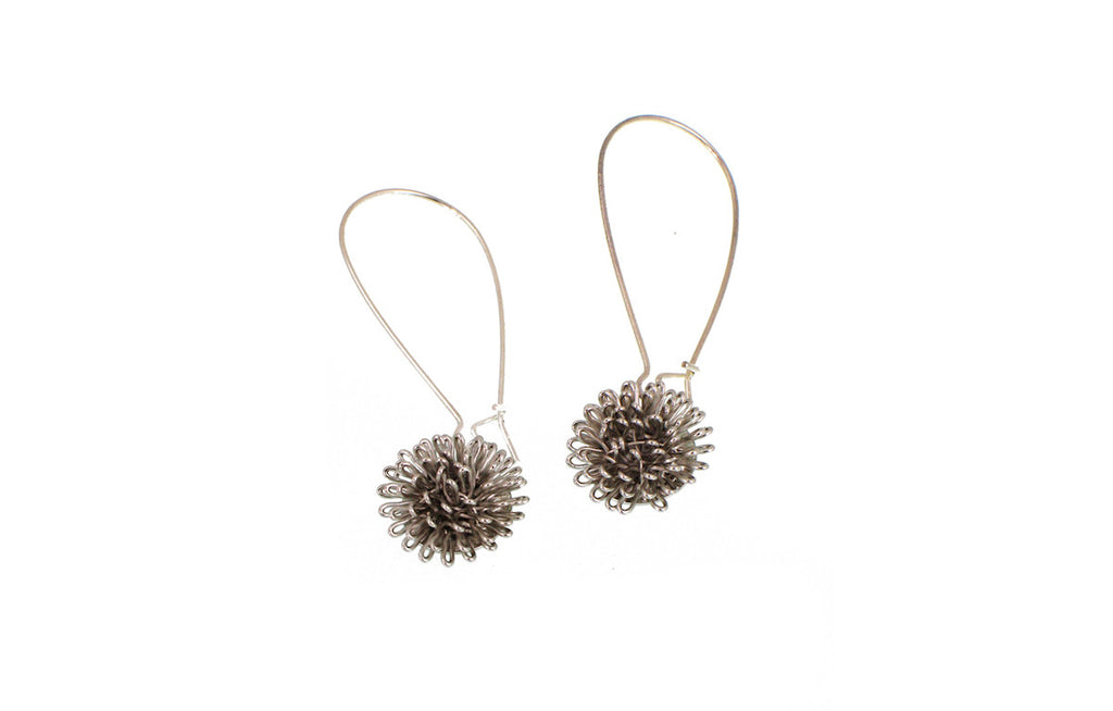 Floral Burst Drop Earrings - Erica Zap Designs