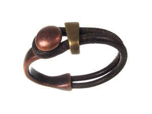 Lasso Style Leather Bracelet - Erica Zap Designs