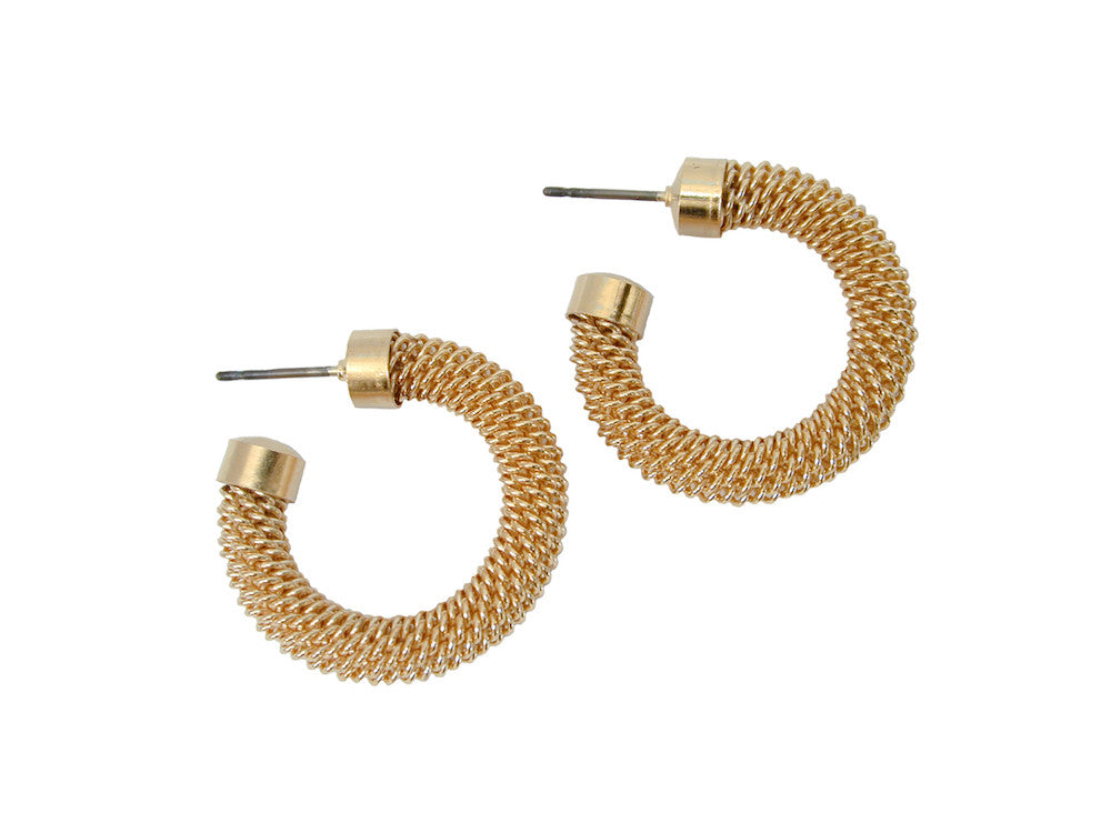 Small Mesh Hoop Earrings | Erica Zap Designs