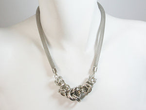 Byzantine Knot Mesh Necklace | Erica Zap Designs
