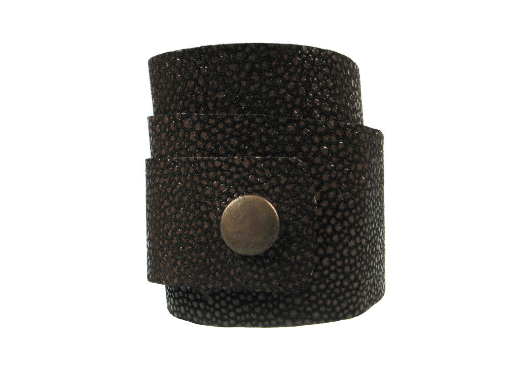 Triple Wrap Leather Bracelet - Erica Zap Designs