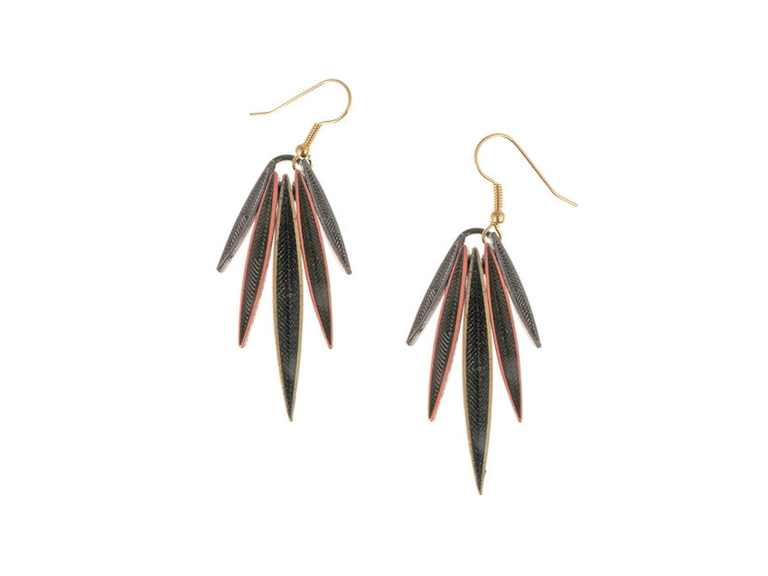 Feather Earrings No. 3 - Erica Zap Designs