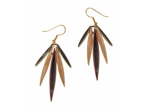 Feather Earrings No. 3 | Erica Zap Designs
