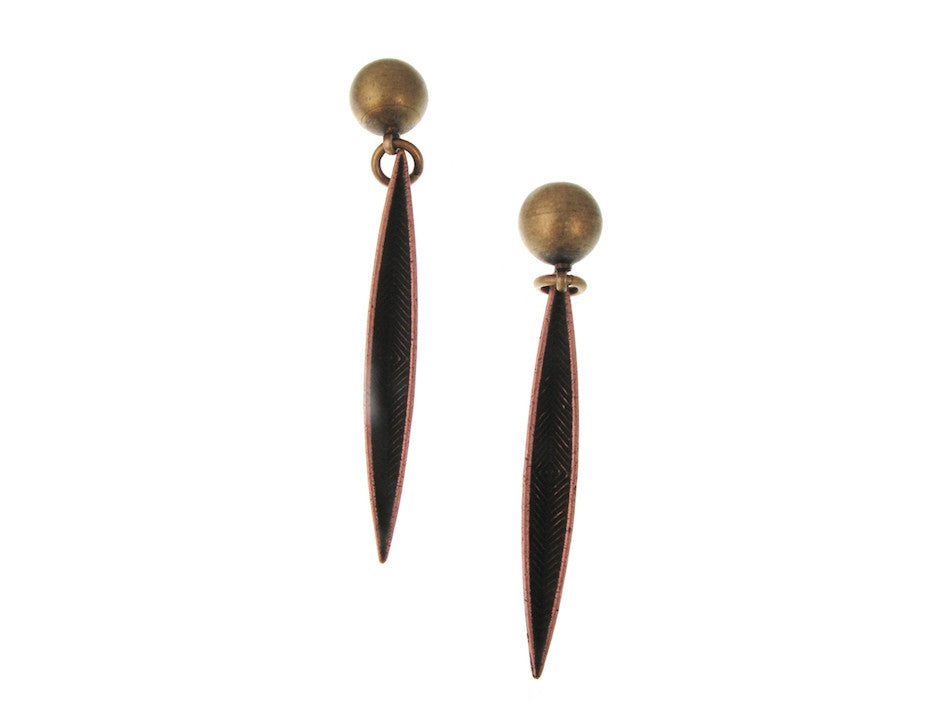 Feather Earrings No. 1 - Erica Zap Designs