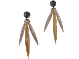 Feather Earrings No. 2 | Erica Zap Designs