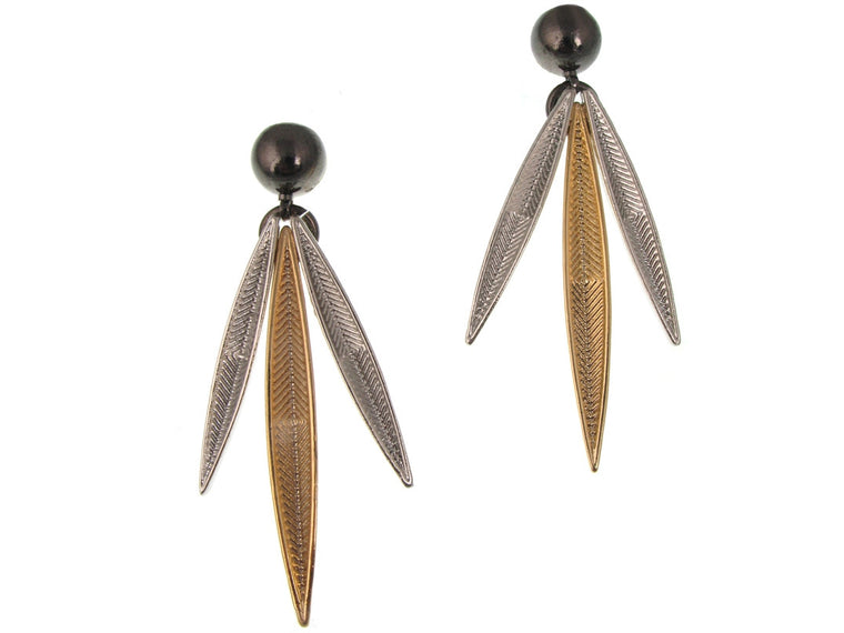 Feather Earrings No. 2 - Erica Zap Designs