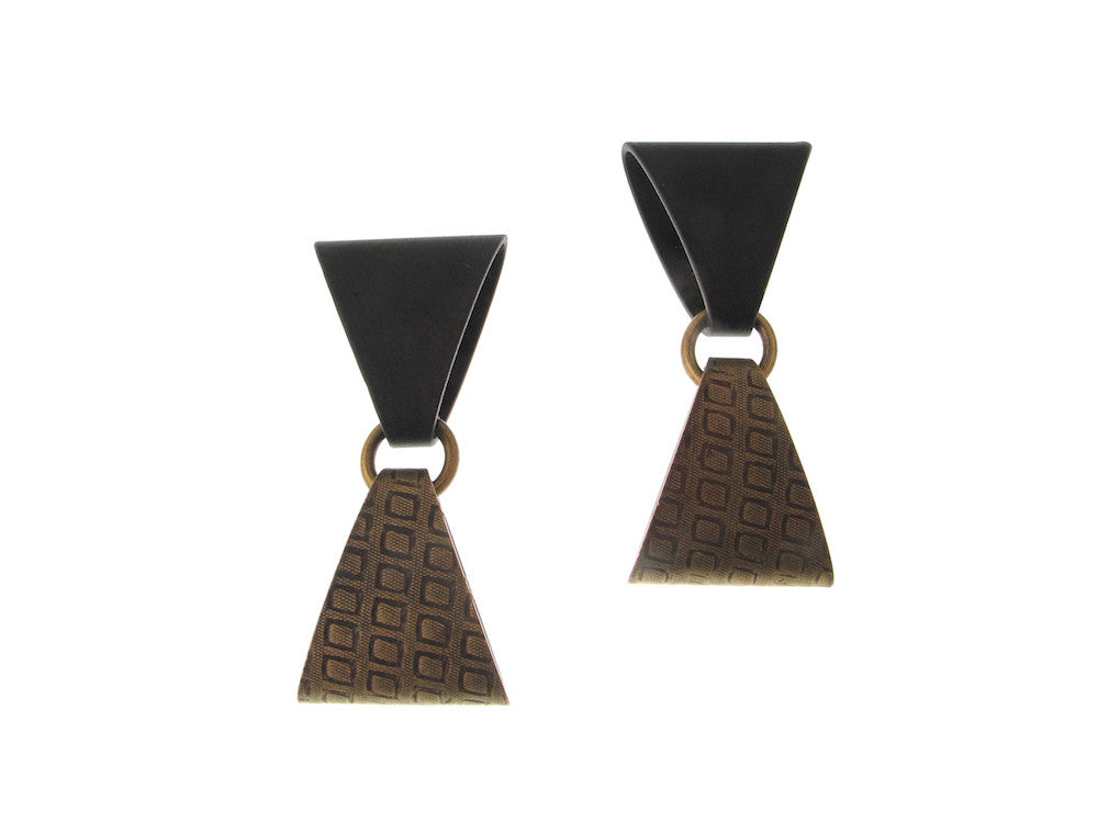 Double Triangle Earrings | Erica Zap Designs