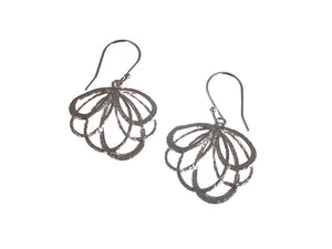 Loop Pattern Sterling Earrings - Erica Zap Designs
