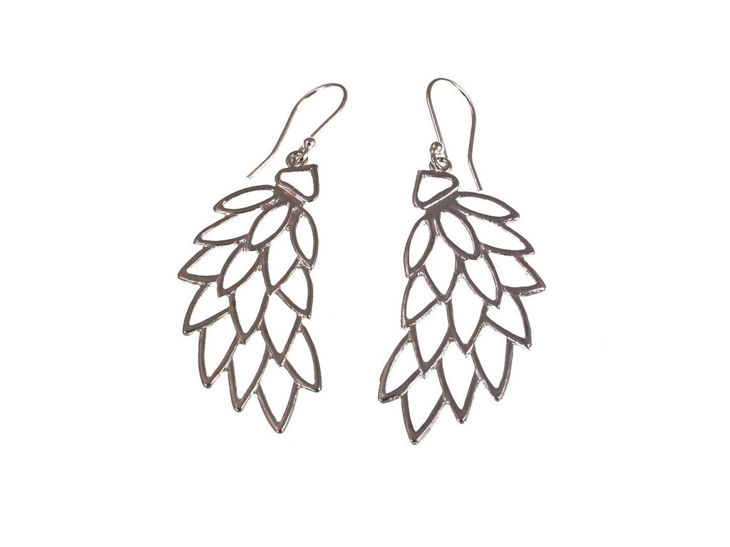 Geometric Wing Earrings - Erica Zap Designs