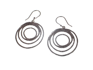 Circle Pattern Sterling Earrings - Erica Zap Designs