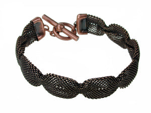 Pinched Mesh Bracelet | Erica Zap Designs